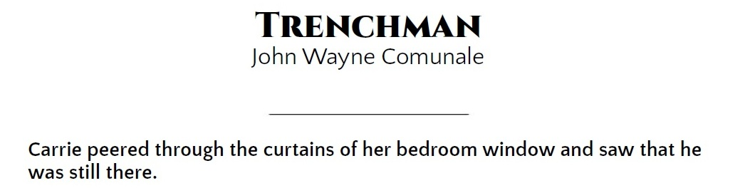 Trenchman Video Blog Art